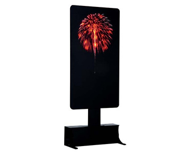 64081 - Red Fireworks, Battery-Operated (4.5 Volts) - Lemax Landscape