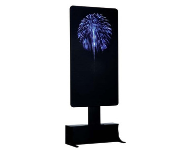 64082 - Blue Fireworks, Battery-Operated (4.5 Volts) - Lemax Landscape