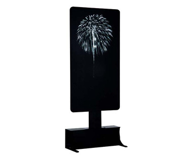 64083 - Bright White Fireworks, Battery-Operated (4.5 Volts) - Lemax Landscape