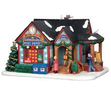 65108 - Snowflake Lane Post Depot - Lemax Caddington Village