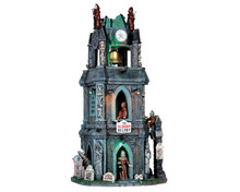 65121 - The Bloody Belfry, with 4.5-Volt Adaptor - Lemax Spooky Town Houses