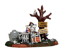73296 - Welcome to the Boneyard - Lemax Spooky Town Accessories