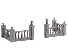 74237 - Plaza Fence, Set of 4 - Lemax Misc. Accessories