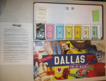 Vintage Board Games - Dallas in a Box - Late for the Sky