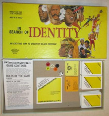 Vintage Board Games - In Search of Identity - Identity Toys
