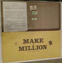 Vintage Board Games - Make a Million - Young-Weeks