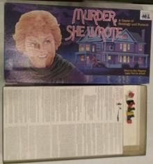 Vintage Board Games - Murder, She Wrote - Warren
