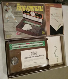 Vintage Board Games - Pro Foto Football - Cadaco