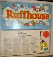 Vintage Board Games - Ruffhouse - Parker Brothers
