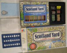 Vintage Board Games - Scotland Yard - Milton Bradley