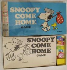 Vintage Board Games - Snoopy Come Home - Milton Bradley