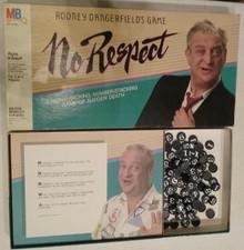 Vintage Board Games - No Respect - Rodney Dangerfield's Game - Milton Bradley