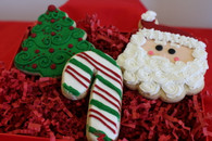 Three Christmas Cookies