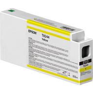 Epson T824400 UltraChrome HD Yellow Ink Cartridge (350ml)