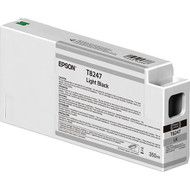 Epson T824700 UltraChrome HD Light Black Ink Cartridge (350ml)