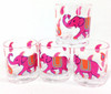 Elephant Parade Double Old Fashioned Glasses (set of 4)