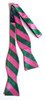 Benthaven Pink Green Bow Tie