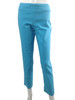 Krazy Larry Pull On Turquoise Ankle Pant