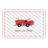 Fire Engine Paper Placemats (50 Sheets)