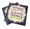 Good Friends & Good Shoes Napkins  (Set of Two)