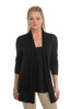Gretchen Scott Cashmere Long Cardigan Black