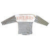 Delray Beach Spirit Jersey Pink/Navy Stripe Flamingo