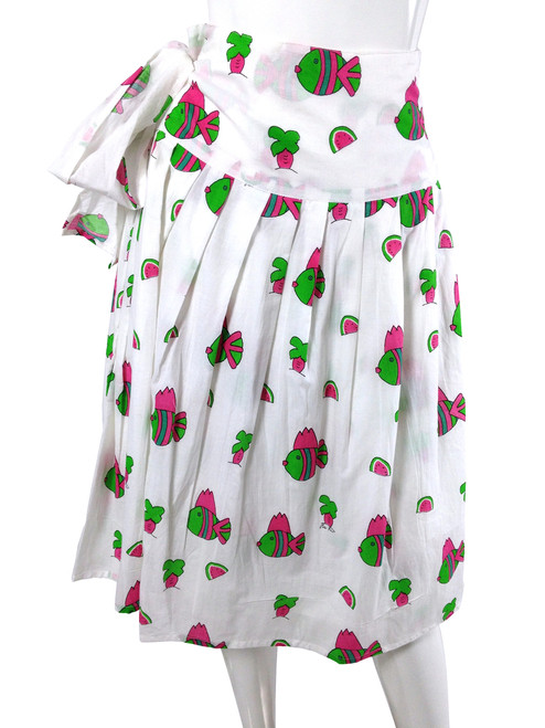 Wrap Skirt Snappy Fish - One Size Fits All