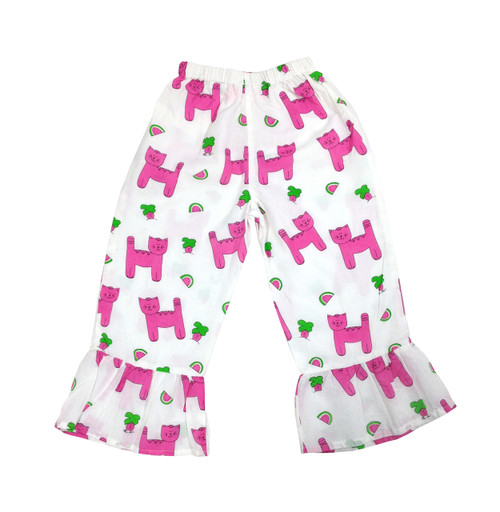 Childs Pants Snappy Cats - Originally $48