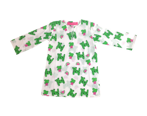 Childrens Tunic Snappy Dogs - Originally $34