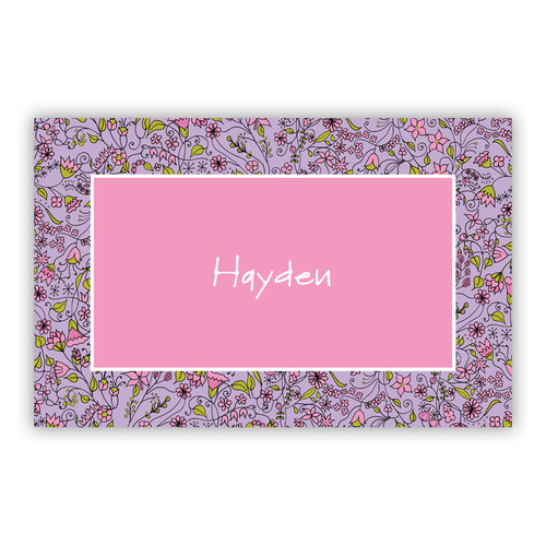 Garden Paper Placemats (50 Sheets)