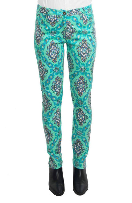 Gretchen Scott Gripe Less Jeans The Persian Green