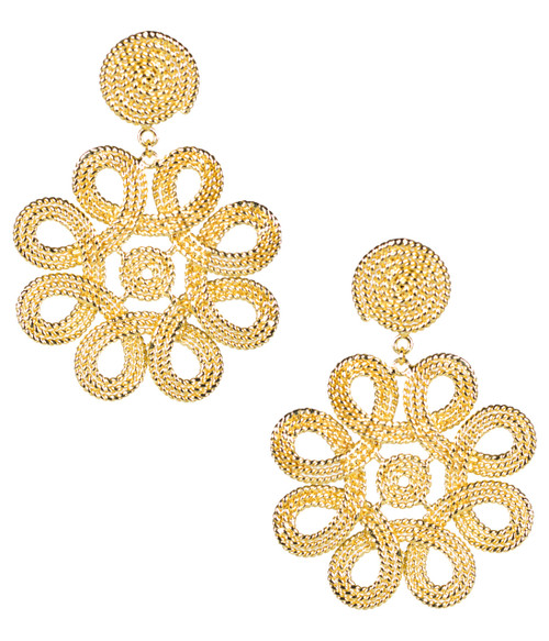 Cameran Earrings | Gold