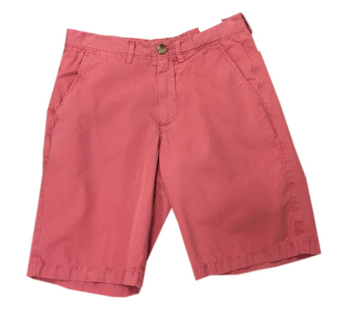 Johnnie-O | Cotton Poplin Short | Nantucket Red