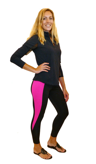 Yoga Legging | Insert Hot Pink