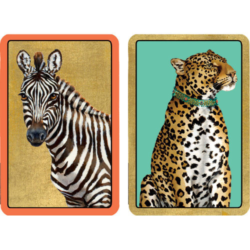 Large Type Playing Cards   2 Deck   Wild