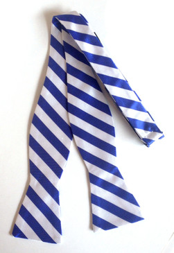 Parlay Bow Tie Blue White