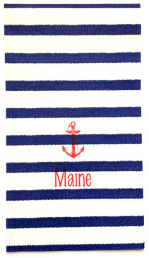Nautical Stripe Guest Towels (Pack of 100)