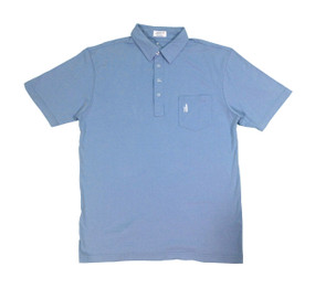 Johnnie-O Periwinkle 4-Button Polo