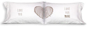 Love you / Love You More Pillowcases