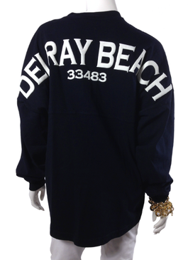 Delray Beach Spirit Jersey Navy / White