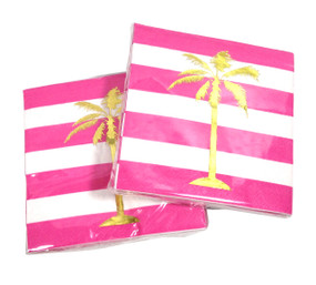 Palmtrees Cocktail Napkins (Set of Two)