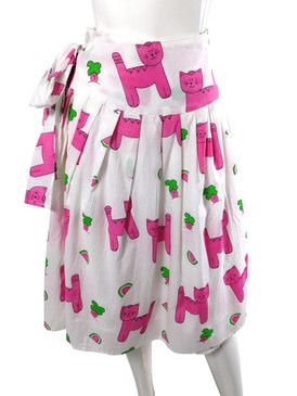 Wrap Skirt Snappy Cats - One Size Fits All
