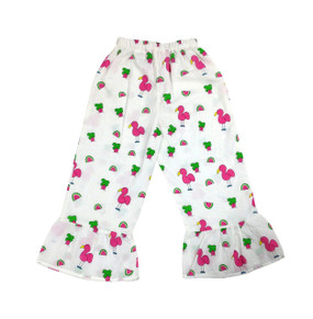 Childs Pants Snappy Flamingos - Originally $48