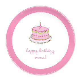 "Birthday Girl 10"" Melamine Plates"