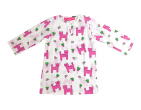 Childrens Tunic Snappy Cats - Originally $34