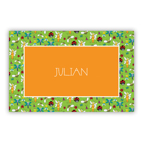 Bugs Paper Placemats (50 Sheets)