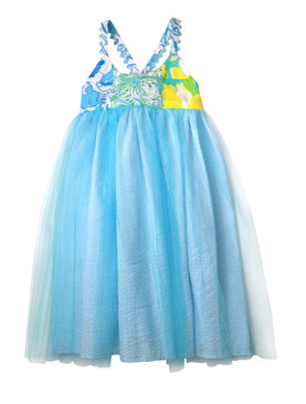 Blue Vintage Lilly Tulle Dress