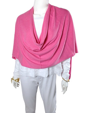 Cashmere Topper Pink
