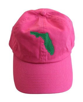 Delray Beach Florida Hat | Hot Pink