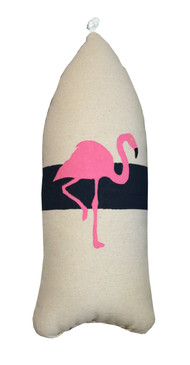 Flamingo Buoy Pillow Navy